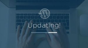 wordpress atualizacao update