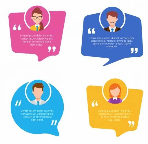 depoimentos avaliações de clientes para um bom site