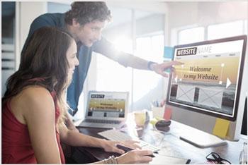 sites institucionais e e-commerce