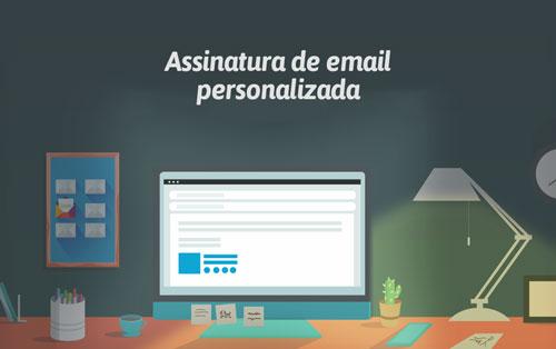 assinatura personalizada de email