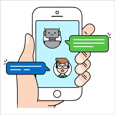 atendimento digital online chatbots