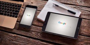 google minha empresa no tablet, celular, notebook