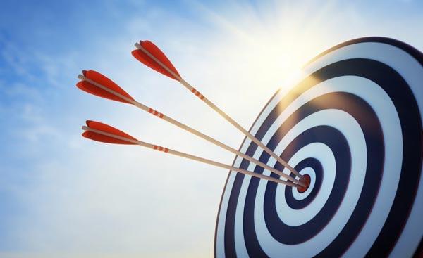 foco prioridade objetivos alvo