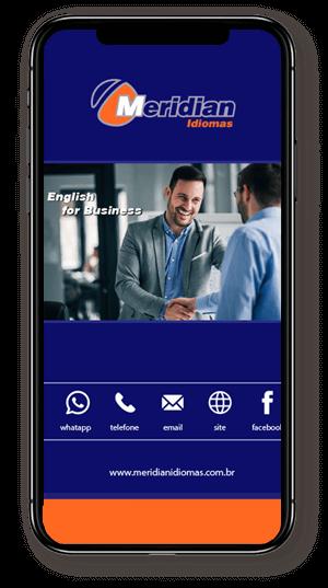 layout celular cartao digital