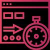 velocidade de carregamento de site icone
